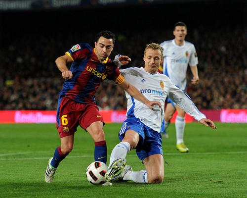 Xavi (Barcelona - Real Zaragoza)