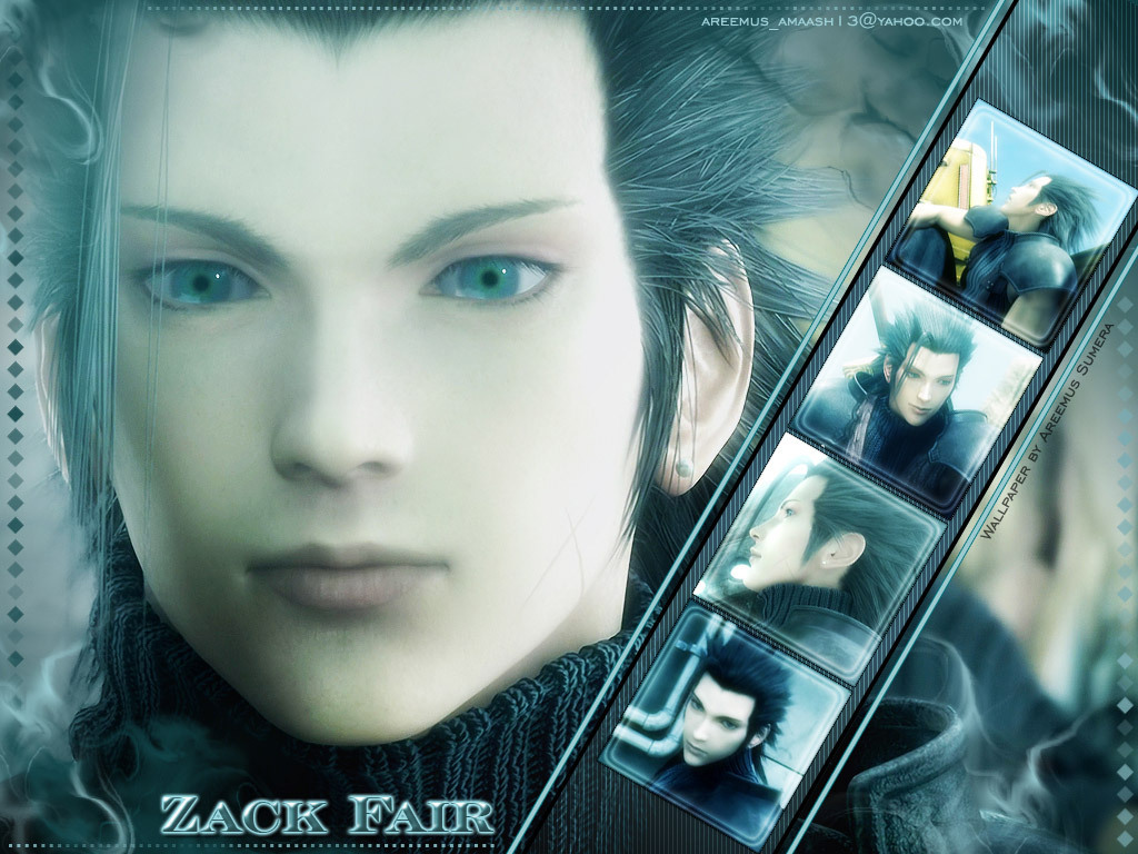 Zack Fair  Final Fantasy Wallpapers and Images  Desktop