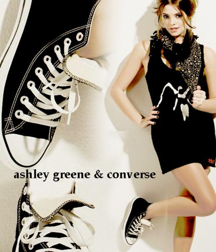 ashley greene & Converse