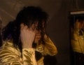 dangerous tour before the show <3 - mj-behind-the-scenes photo