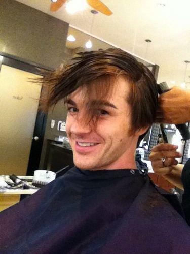 drake kengele hair cut