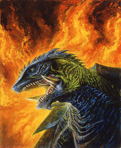 gamera fan art