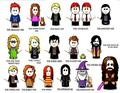 harry potter characters - harry-potter fan art