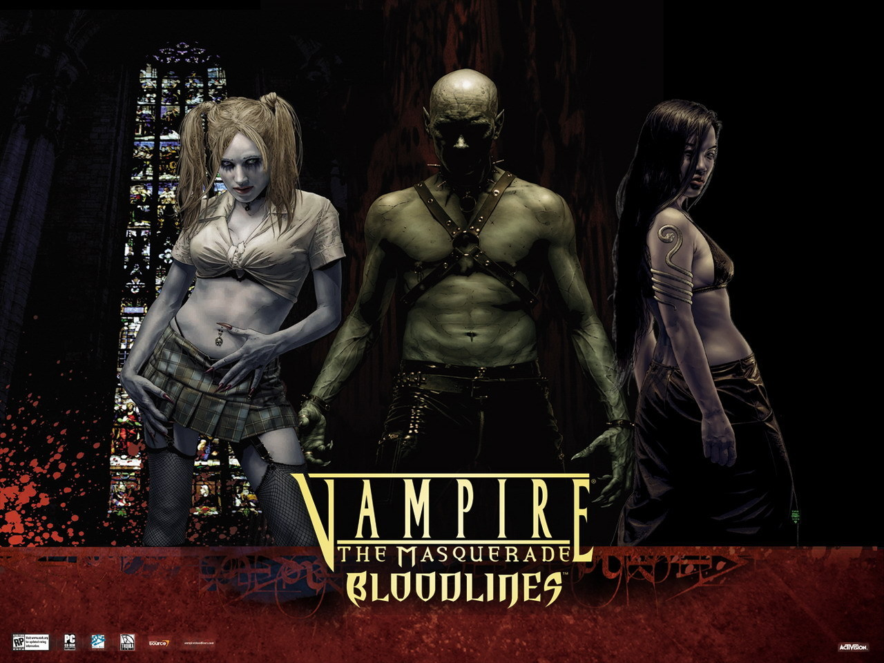Lets play vampire the masquerade - bloodlines: clan quest mod pt