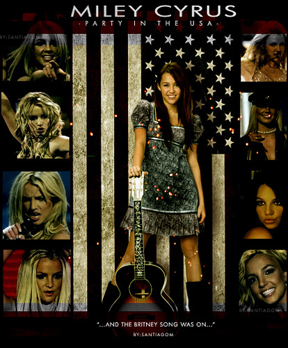 Miley Cyrus wallpaper probably containing a sign titled part in the U.S.A