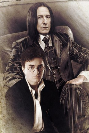 snape and harry potter