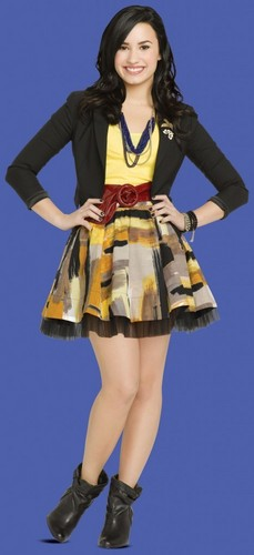 Sonny Munroe wallpaper possibly containing a skirt, a hip boot, and a gathered skirt called sonny's new look!