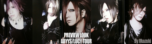 the GazettE New Look 2011