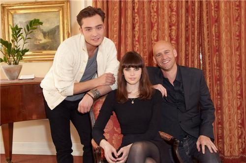 """Powder Girl"" (Chalet Girl) Vienna Photocall"