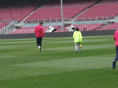 nephew Shakira Tarik played football with Piqué !