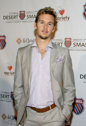 Ryan Kwanten and James Frain @ 7th Annual K-Swiss Desert Smash