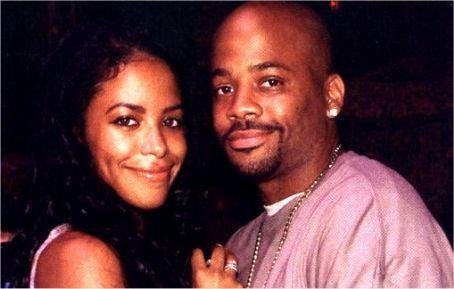 Aaliyah with Damon *rare photos*