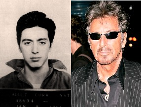 Al Pacino - now & then