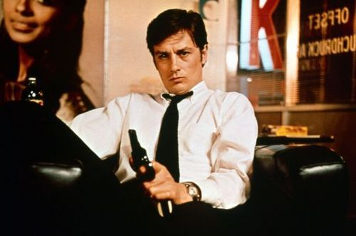 Alain Delon wallpaper possibly containing a business suit called Alain