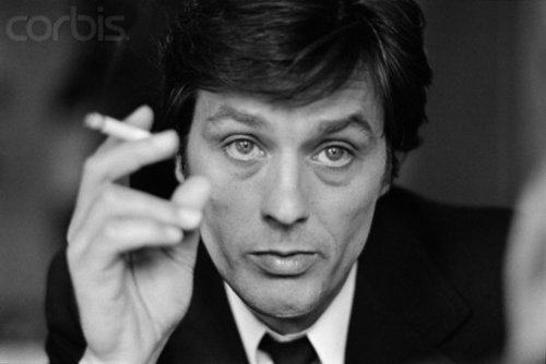 Alain Delon kertas dinding containing a business suit and a suit entitled Alain
