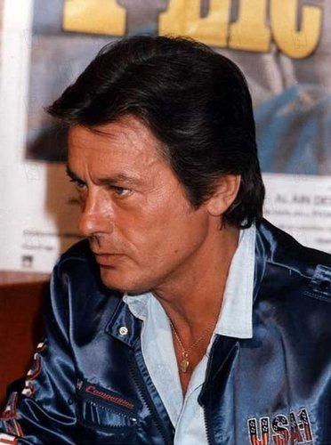 Alain Delon wallpaper probably with a portrait titled Alain