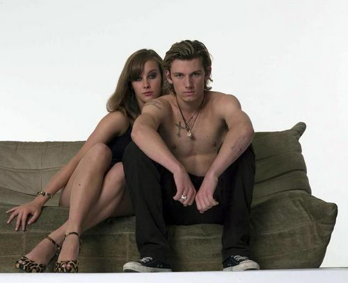 Alex Pettyfer wallpaper possibly with skin called Alex Pettyfer
