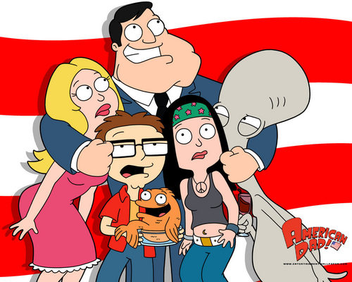 American Dad! wallpaper containing anime called American Dad