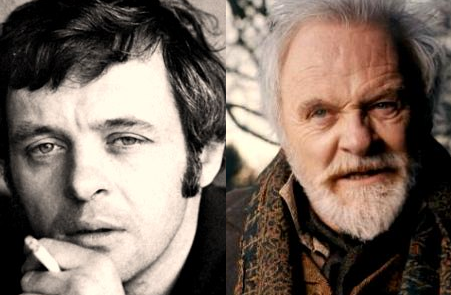 Anthony Hopkins - now & then