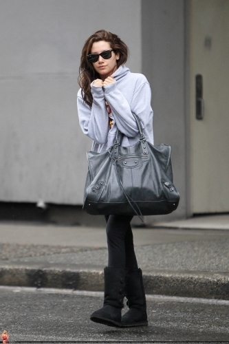 Ashley out in Vancouver