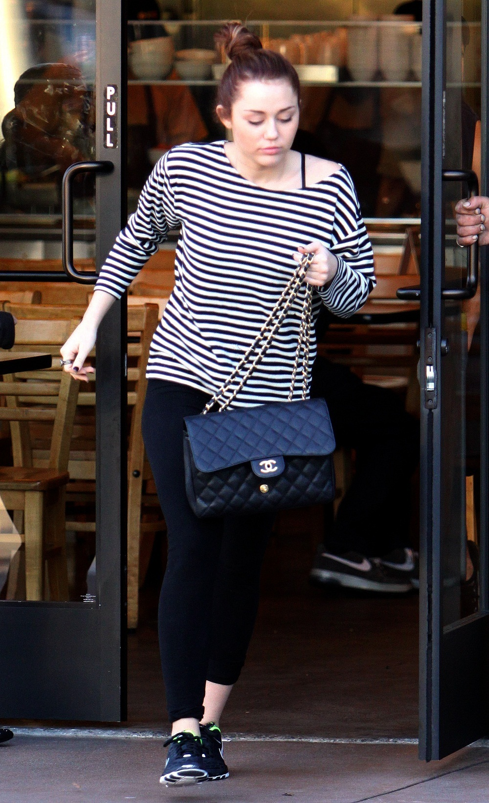 At Car outside California Chicken Cafe in West Hollywood (8th March 2011)