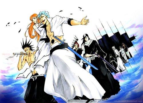 anime bleach wallpaper entitled Back from Hueco Mundo
