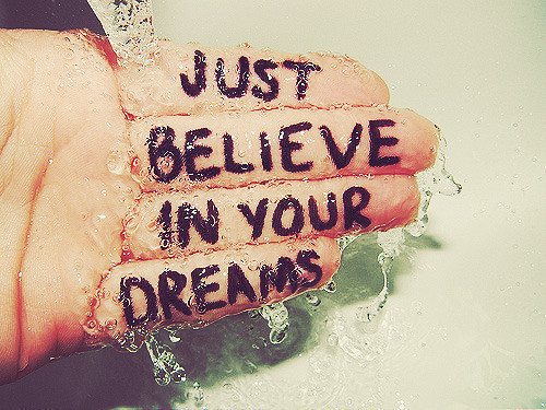 Belive In Your Dreams - daydreaming Photo