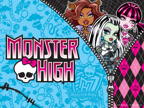 Monster High hình nền with anime called Besties hình nền 1024x768 & 800x600