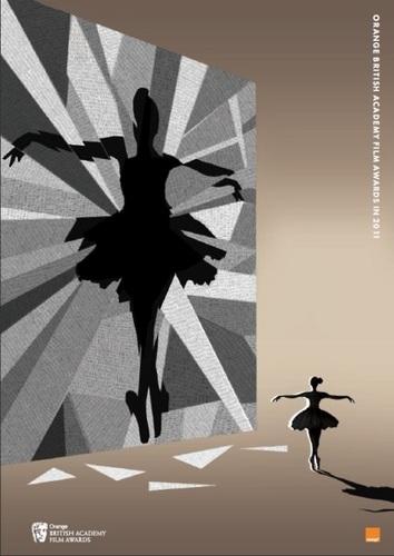 Black हंस Poster