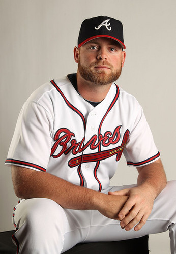 Brian McCann 2011 Photo Day ATL