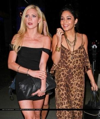 Brittany & Vanessa out in LA