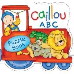 Caillou's ABC Train Puzzle Book