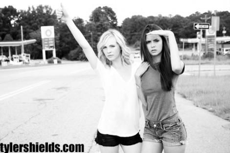 Candice & TVD stars