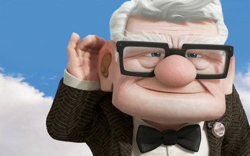 Carl Fredricksen wallpaper titled Carl Fredricksen