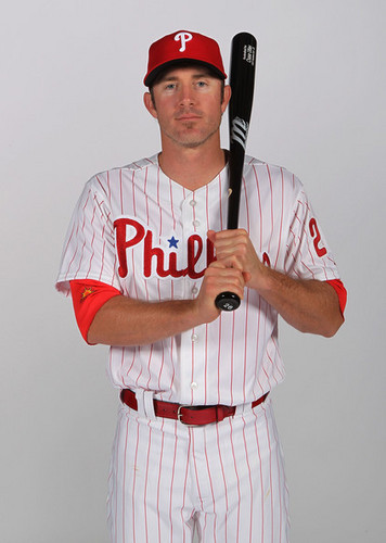 Chase Utley 2011 Photo Day PHI