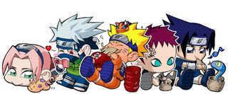 Chibi Naruto gang