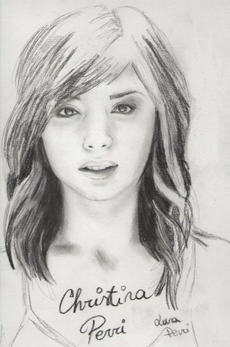 Christina drawing