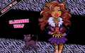 Clawdeen Wolf Wallpaper 1280x800