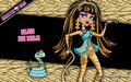 Cleo De Nile Wallpaper 1280x800 - monster-high wallpaper
