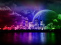 Cosmic Colors - bright-colors wallpaper