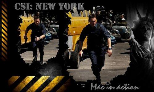 Les Experts New York fond d'écran Mac