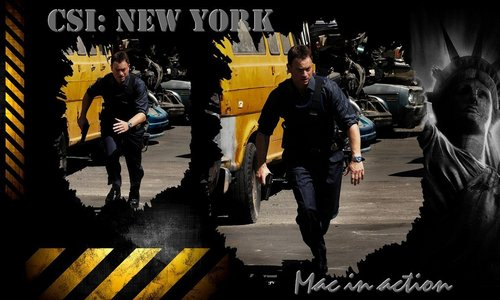 CSI New York Hintergrund Mac