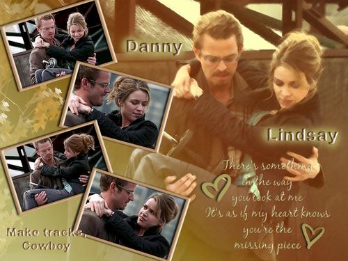 Danny and Lindsay fondo de pantalla