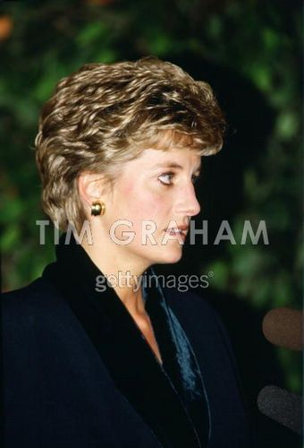 Diana Leaves Hilton
