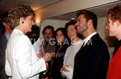 Diana With George Michael Kd Lang