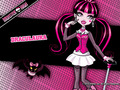 Draculaura Wallpaper 1024x768 &amp; 800x600 - monster-high wallpaper