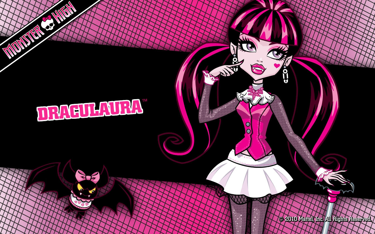 Monster High Draculaura Wallpaper 1280x800