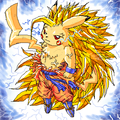Dragon Ball-Z Pikachu - electric-type-pokemon photo