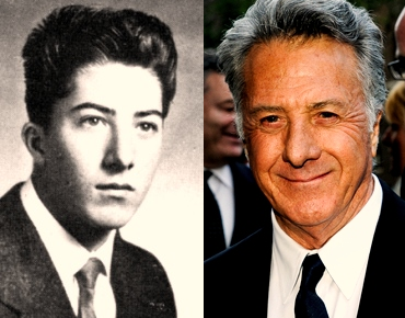 Dustin Hoffman - now & then