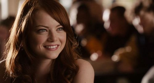 Emma Stone wallpaper with a portrait titled Easy A